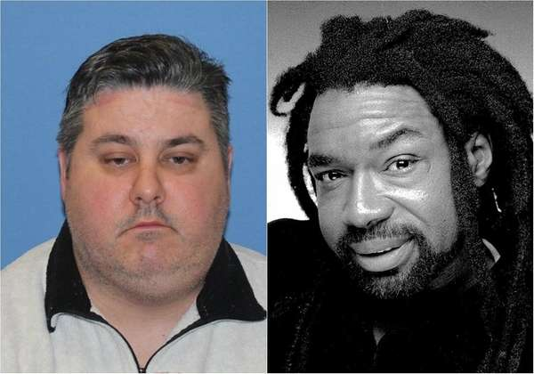Brian Coll, 47, left, a former Rikers Island