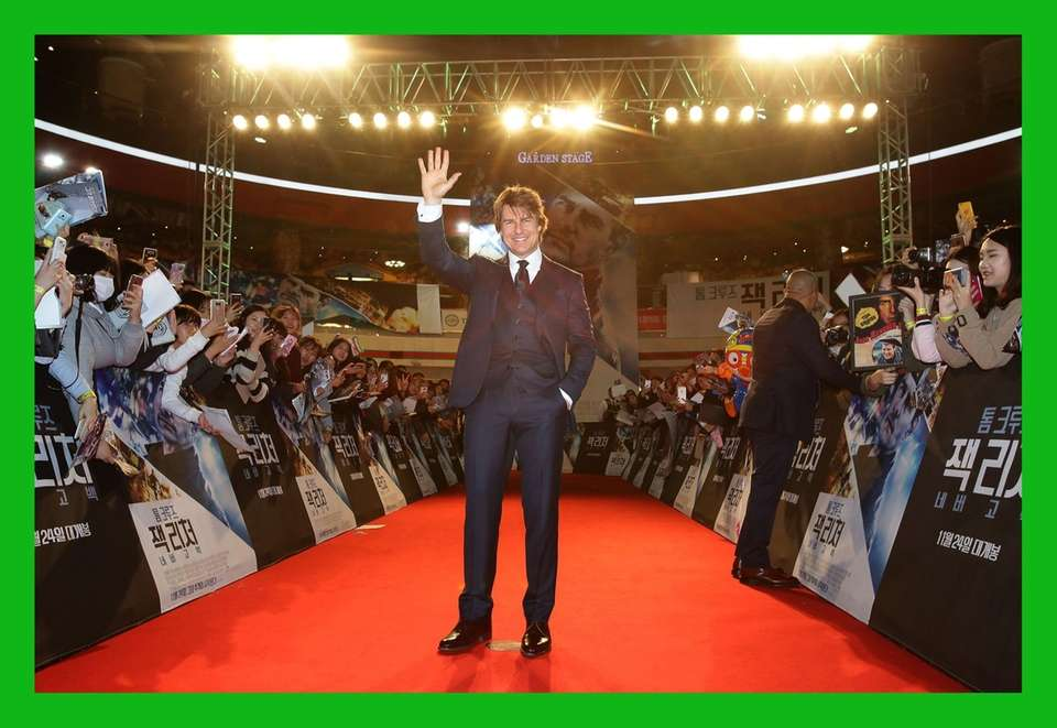 Tom Cruise at the Paramount Pictures'