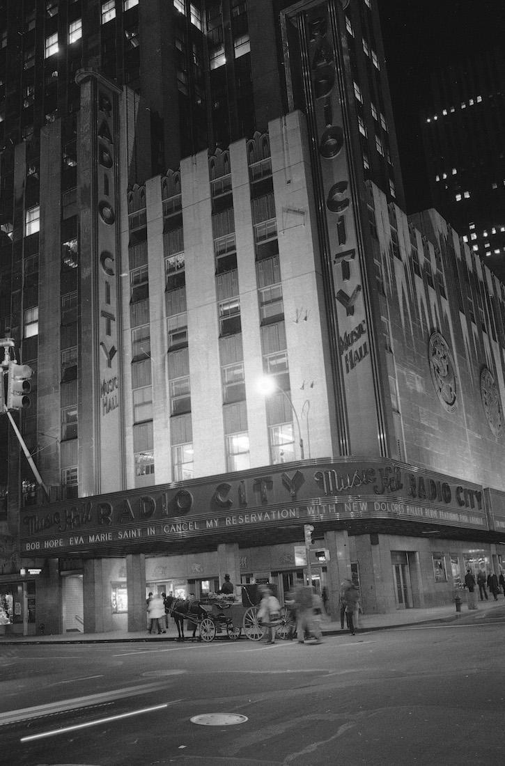 A spokesman for Rockefeller Center's Radio City Music
