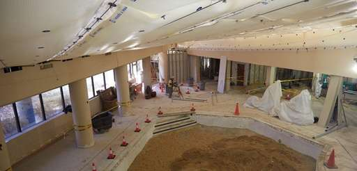 Construction is underway at a Suffolk OTB casino