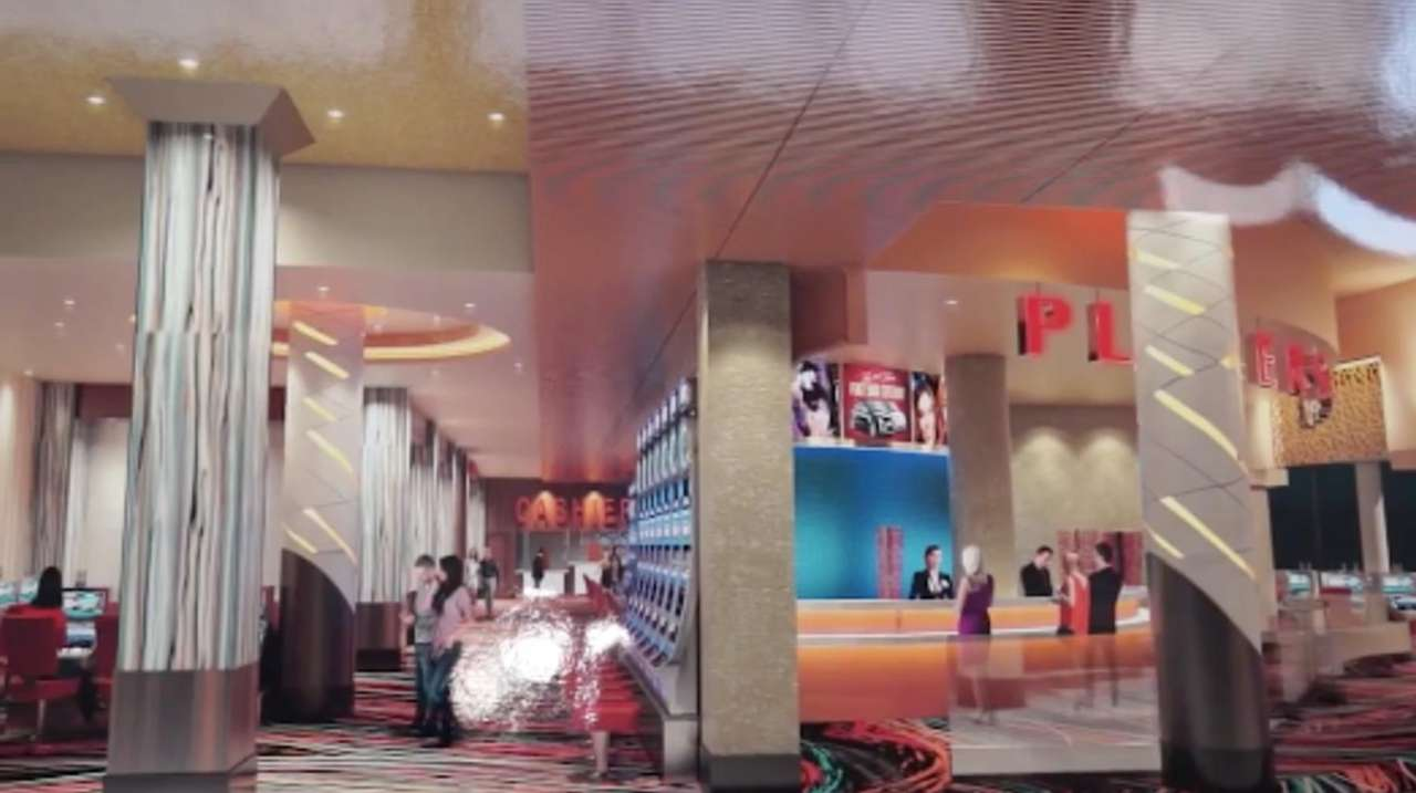 Work is beginning on the new casino in