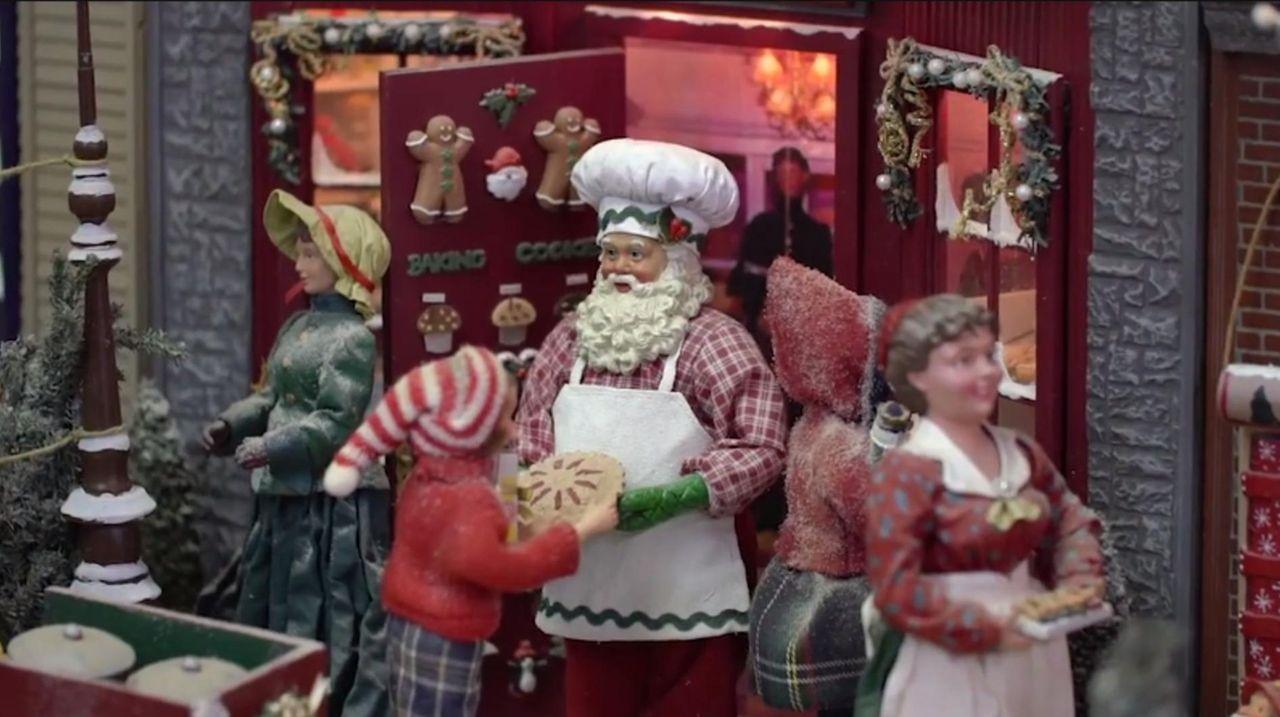 The Milleridge Inn Christmas Shoppe in Jericho featuresthe