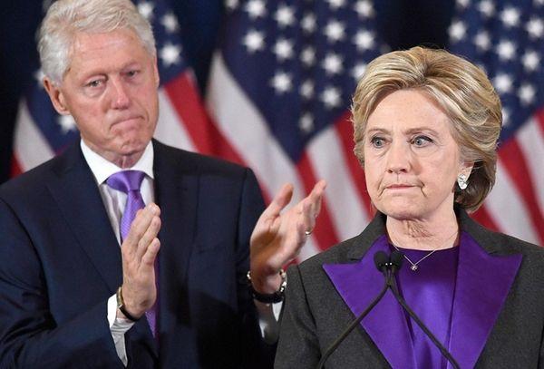 Former President Bill Clinton on Nov. 9, 2016.