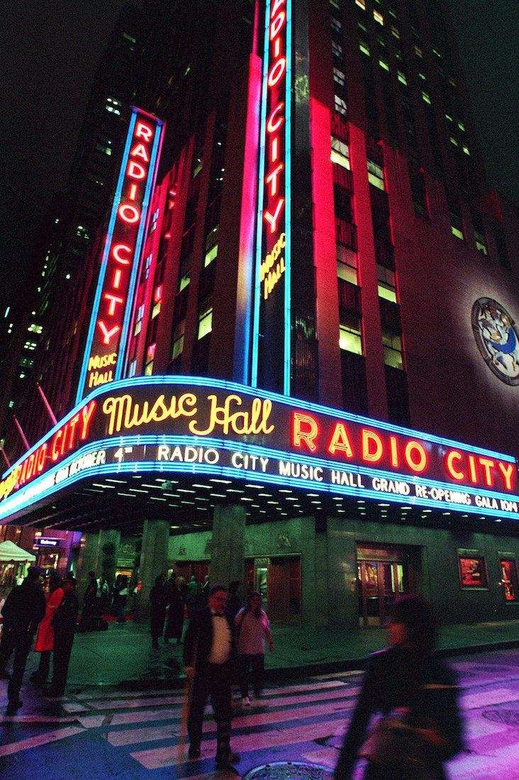 Radio City Music Hall announces its grand reopening