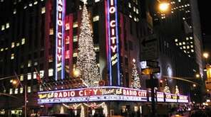 Christmas trees and other decorations sparkle on Radio