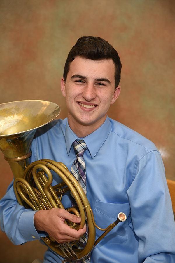 East Islip High School's Michael Stevens describes his