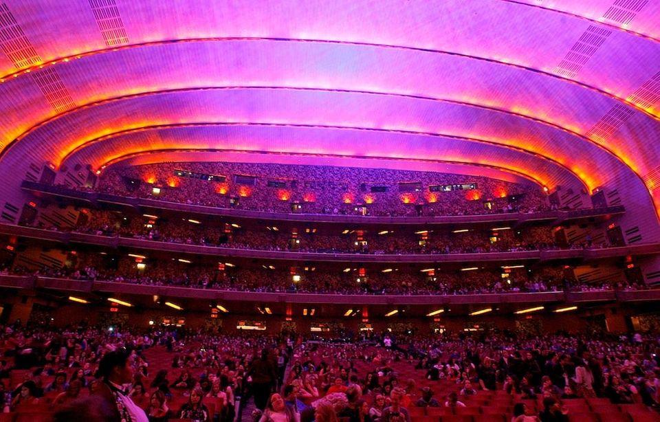 Radio City Music Hall before the Jonas Brothers