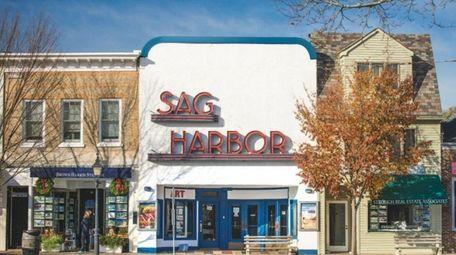 The Sag Harbor Cinema, a single-screen Art Deco