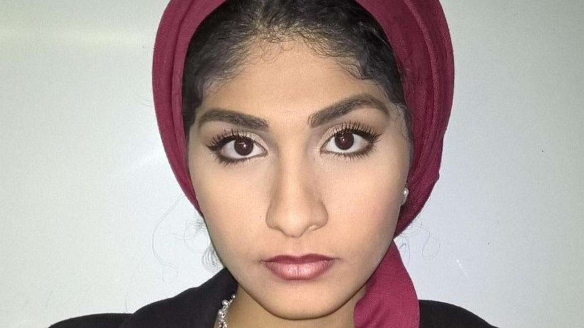 Yasmin Seweid, 18, a Muslim women from New