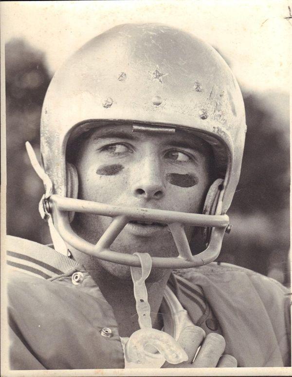 Chad Smith, Sayville High School's star quarterback in