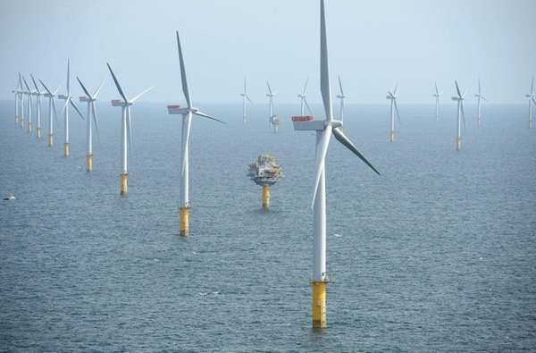 Statoil's Sheringham Shoal wind farm in the North