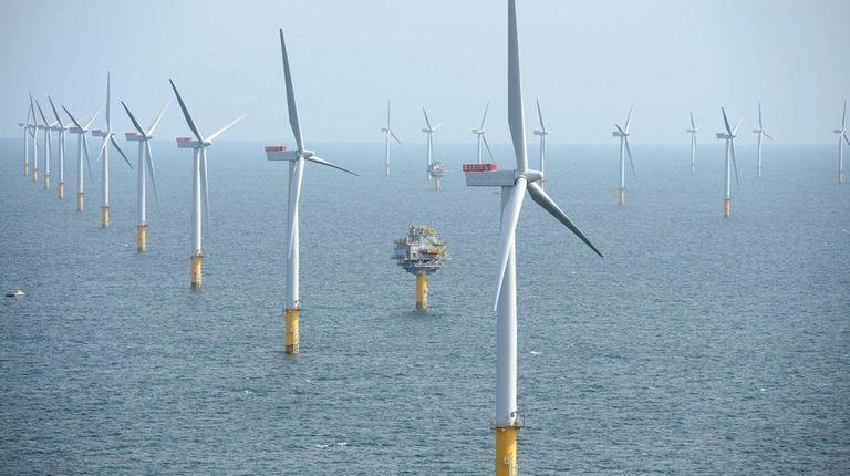 Statoil's Sheringham Shoal wind farm in the North