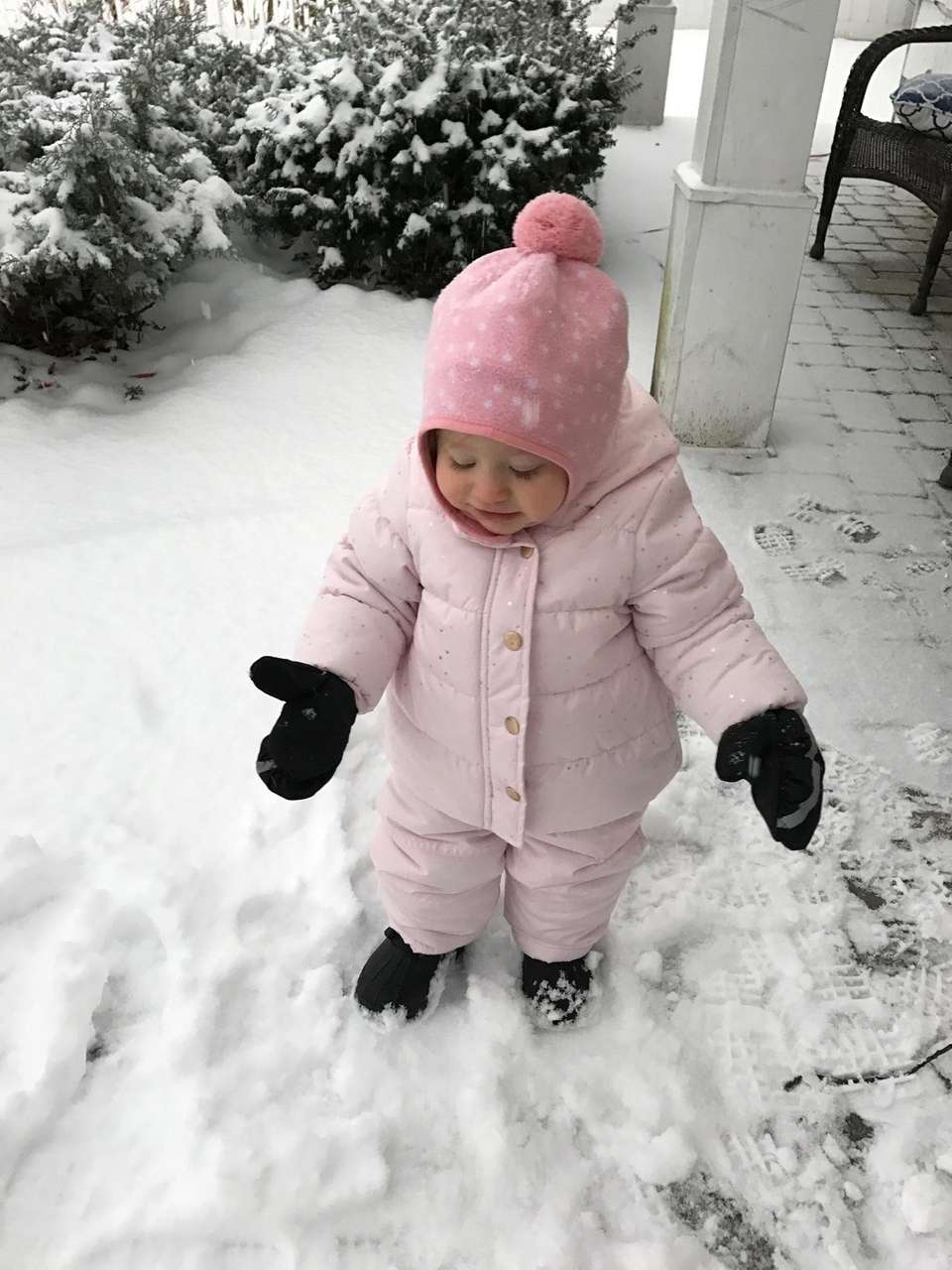First time in the snow