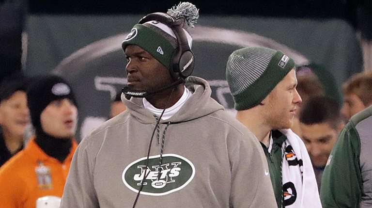 New York Jets head coach Todd Bowles on