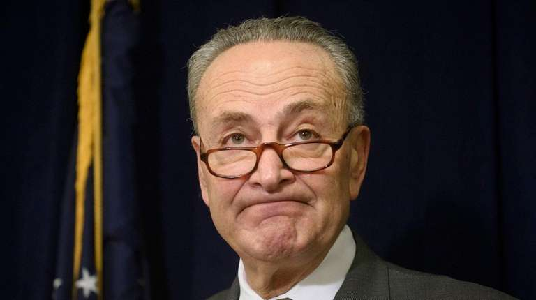 Sen. Chuck Schumer discusses an intelligence assessment that