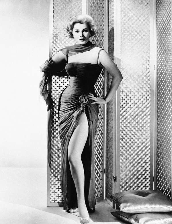 Actress Zsa Zsa Gabor on Sept. 4, 1958.