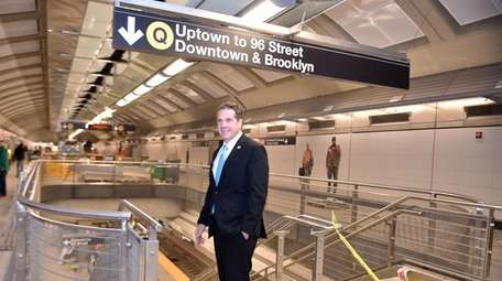 The Second Avenue subway will launch on Jan.