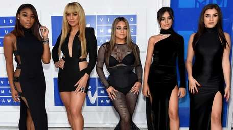 Normandi Kordei, from left, Dinah Jane Hansen, Ally
