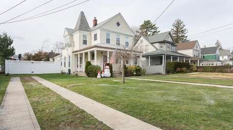 This recently updated Victorian in Freeport, listed in