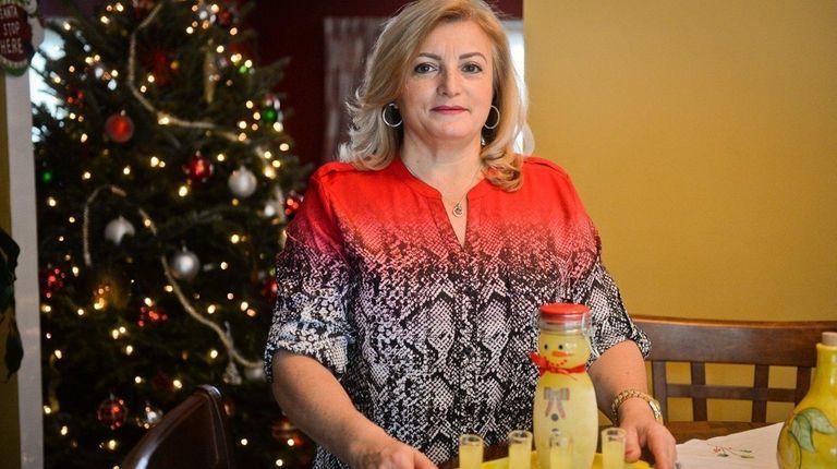 Elisa Scialli of Westbury keeps an Italian tradition