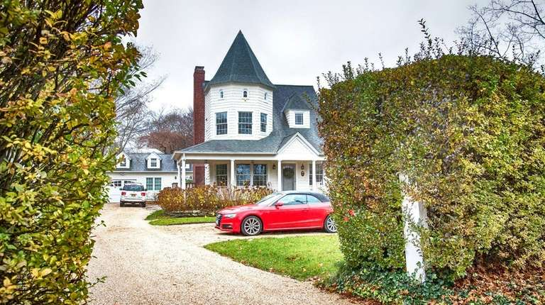 The four-bedroom traditional house had been listed for