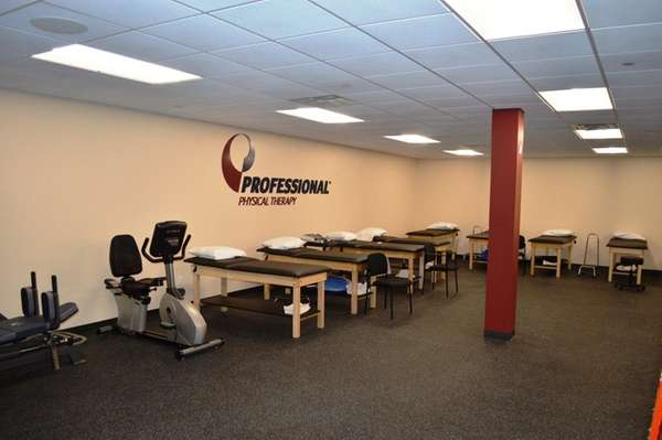 The interior of the new Professional Physical Therapy