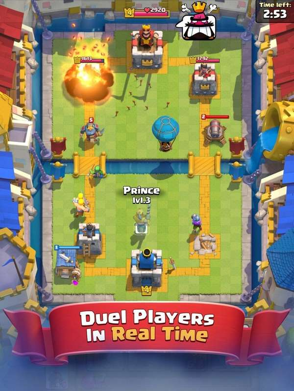 The iPhone game Clash Royale tops Apple's list