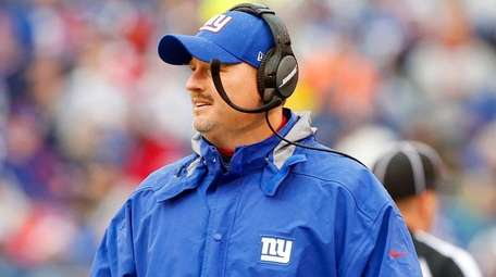 Giants head coach Ben McAdoo in the first