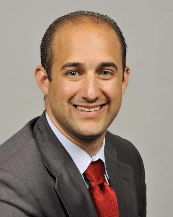 Legis. Rob Calarco (D-Patchogue) is seen in a