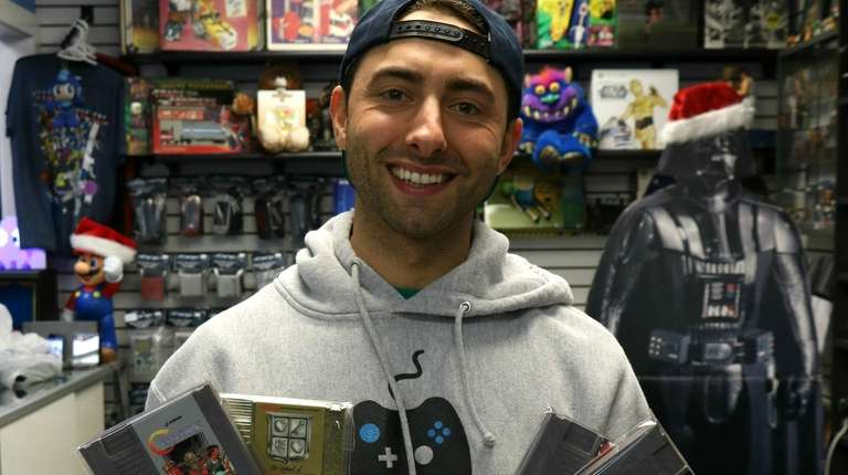 Tristan Whitworth, 31, is the owner of Game