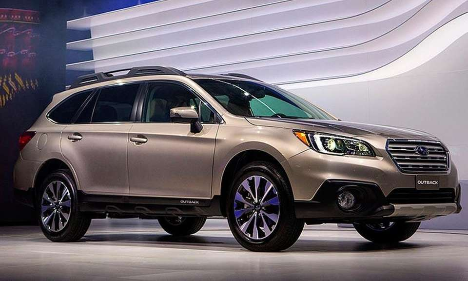 Subaru's Outback wagon was picked the best wagon