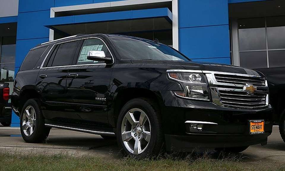 Chevrolet's Tahoe and GMC Yukon were rated the