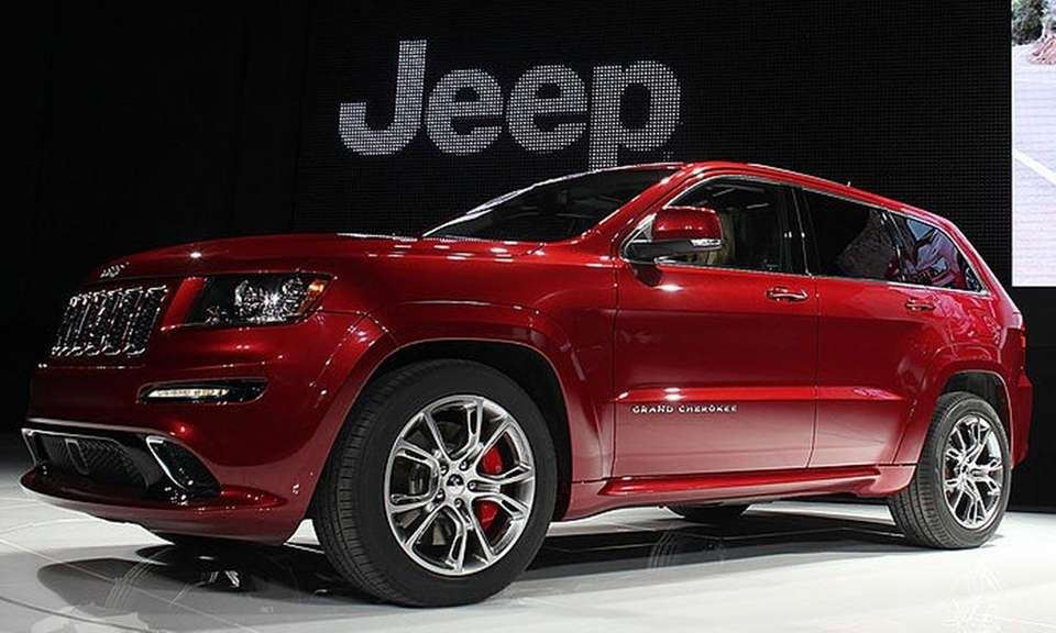The Jeep Grand Cherokee was tabbed as the