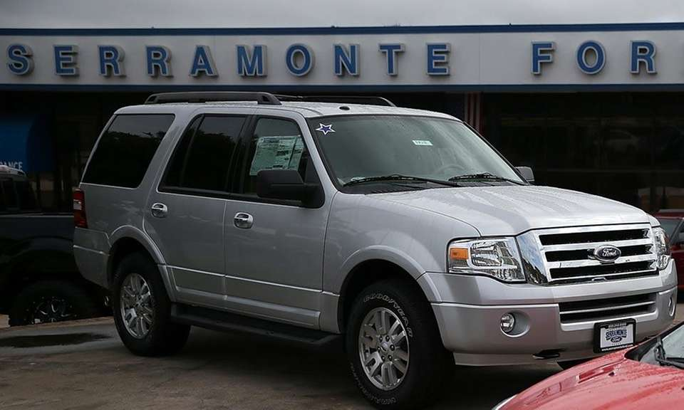 Ford's Expedition SUV was picked as one of