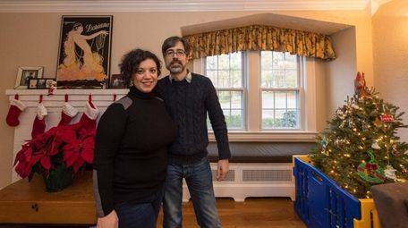 Brian and Julie Hanley in their favorite room