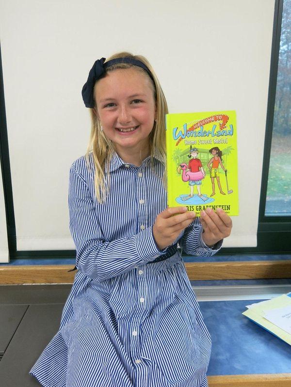 Kidsday reporter Rhiannon Whelan with