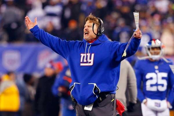 Coach Ben McAdoo of the New York Giants