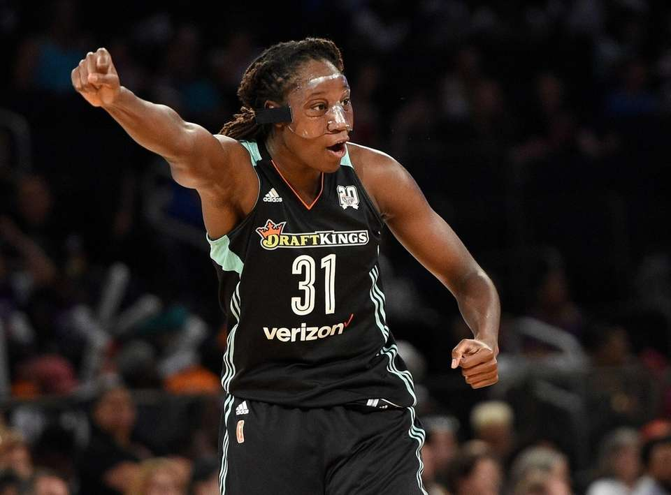 The Queens native, who was the WNBA MVP