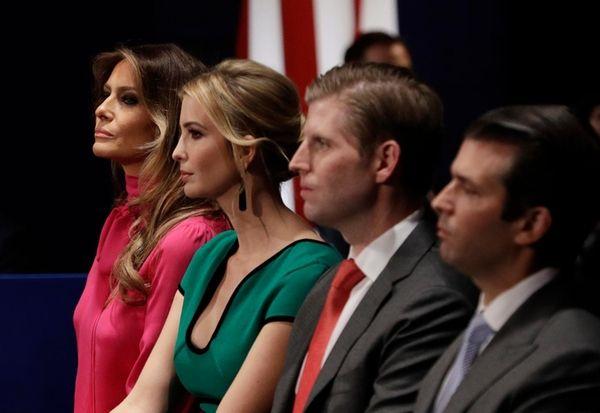 Donald Trump's children have come under scrutiny for