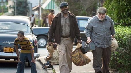 Denzel Washington and Stephen McKinley Henderson star in