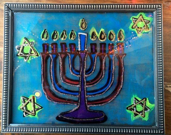 Creative Corner's Hanukkah Crafts Night includes making faux