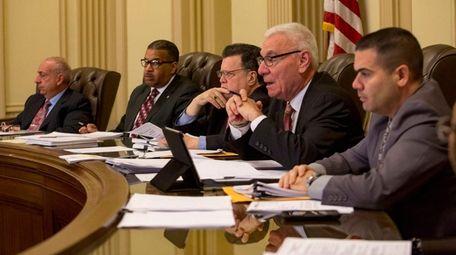 Hempstead IDA board members meet on Wednesday, Dec.