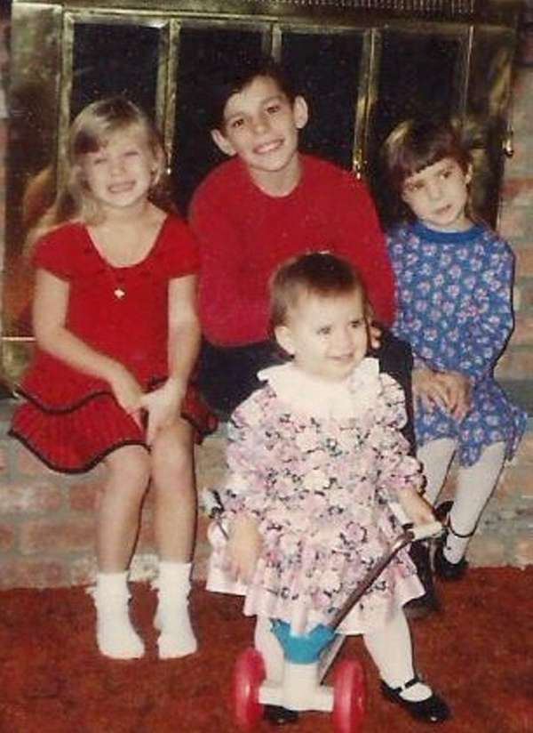 Gary Rochler and his sisters Courtney, Kristen and