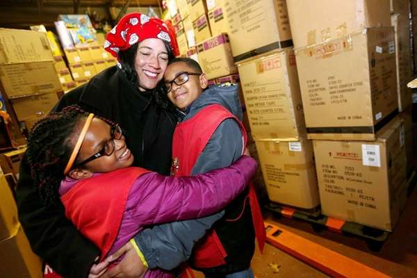 Melissa Doktofsky, founder of Toys for Hope, with