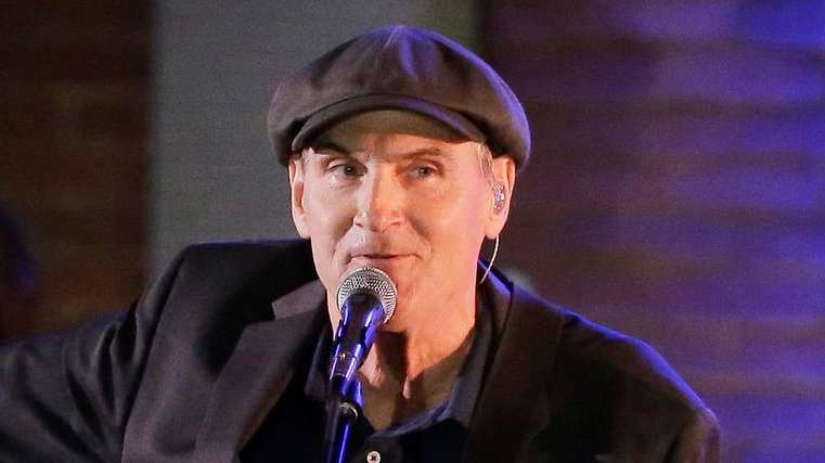 James Taylor has canceled his February concert in