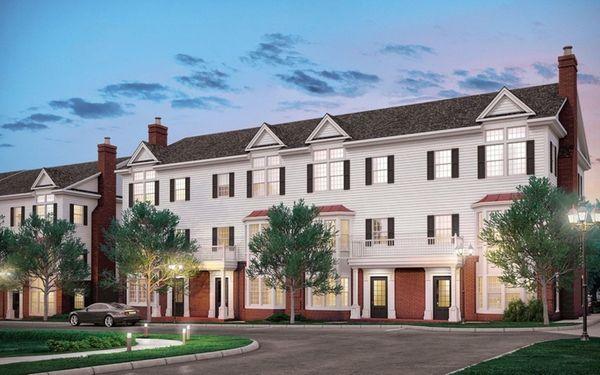 The Roslyn Landing development will offer homes priced
