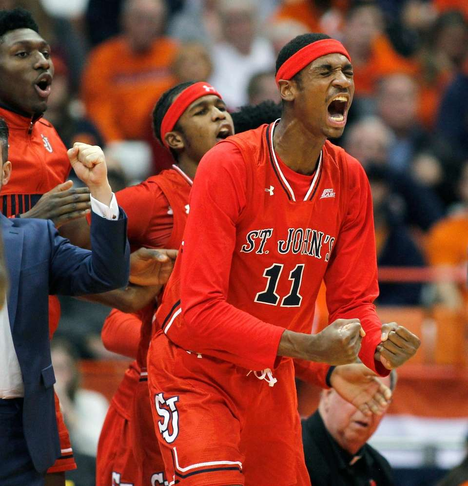 Syracuse Orange (7-4) vs. St. John's Red Storm (5-7) GameThread