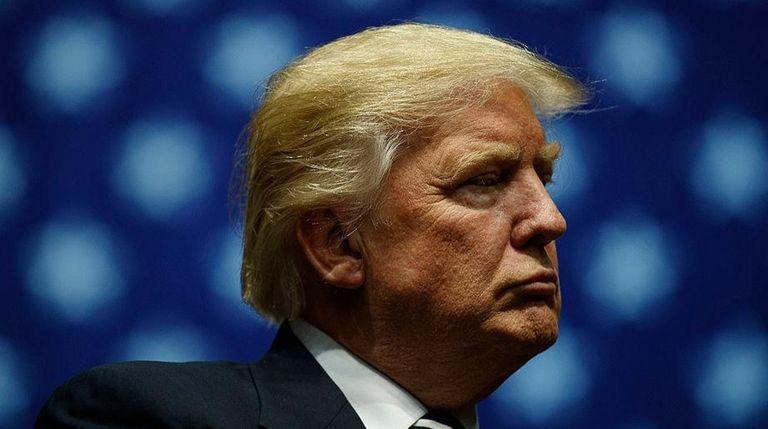 President-elect Donald Trump in Grand Rapids, Mich., on
