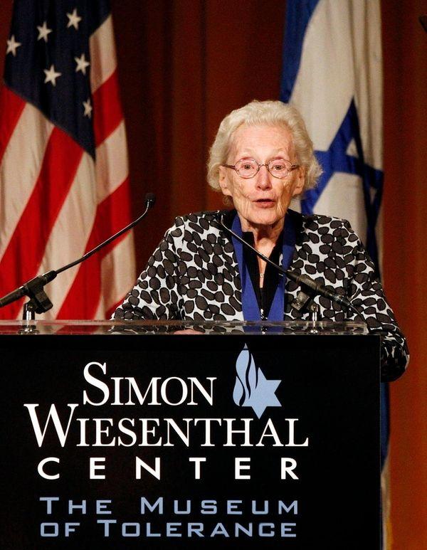 Marion Pritchard received a Medal of Valor Award