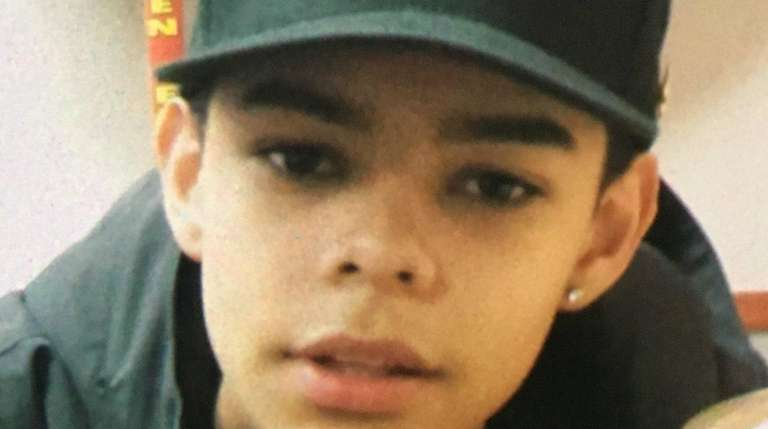 Oscar Otero, 15, of Bethpage, was reported missing